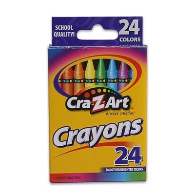Cra-Z-Art 24ct Crayons (3-boxes) - 1