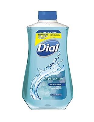 Dial Antibacterial Liquid Hand Soap, Aloe, 7.5 Ounce