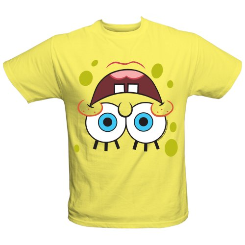 SpongeBob SquarePants: SpongeBob Upside Down Face Tee - Youth