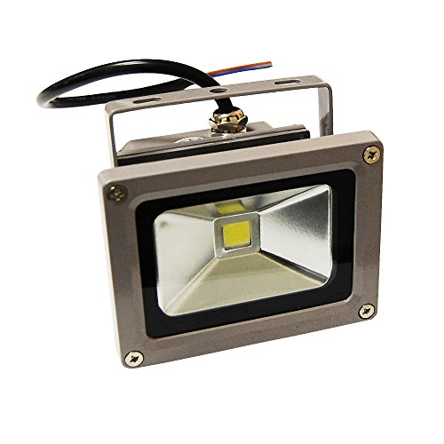eTopLighting (5 Pack) LEF120V10WW, LED Flood Light, Outdoor Landscape Security Lighting IP65 Resistant, 120V 10W Warm White 700 Lumens, LEF120V10WW(5)