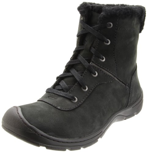Keen Women's Crested Butte Low Casual Boot,Black,7.5 M US