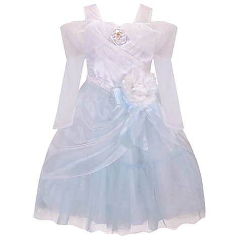 Disney Store Princess Cinderella Wedding Gown Halloween Costume Dress Size XS 4