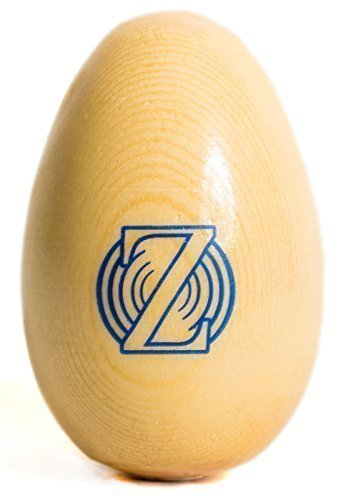 Zenit Audio Egg Shaker - Premium Professional Wood Egg Shakers and Musical Instruments for Baby - Percussion Toy and Instrument for Kids and Babies - Wooden Egg Rhythm Rattle - Unbreakable Safe Non-Toxic Mellow Sound Music Toys for Toddler and Kid