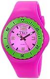 TKO ORLOGI Women's TK595FS Beach Lightweight Fuchsia Rubber Watch