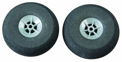 Great Planes Ultralite Wheels 2-1/2 (2-Piece)