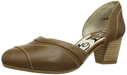 Fly London Klee, Scarpe col tacco donna Marrone Marrone (cammello) 43