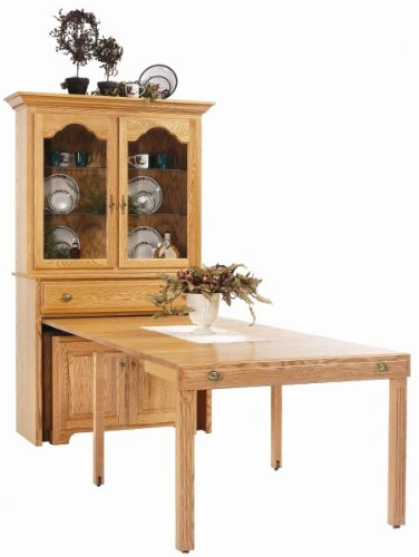 Buy Low Price Console Buffet With Pullout Table Mydletowne 8 POC201B B004I5F