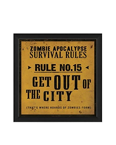 The Artwork Factory Survival Rule No. 15 Print