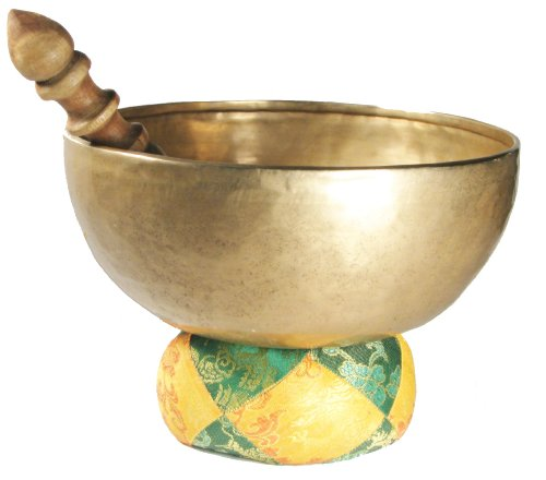 Hand Hammered Tibetan Meditation Singing Bowl 7 Inches