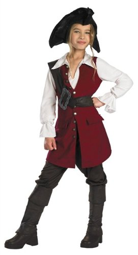 Pirates of the Caribbean - Elizabeth Pirate Deluxe Pre-Teen Costume