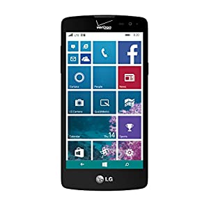 LG Lancet - VW820 - 8GB Windows Smartphone - Verizon - Black ...