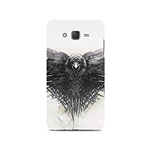 TAZindia Printed Hard Back Case Mobile Cover For Samsung Galaxy J3