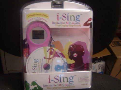 I-Sing Interactive MP3 Karaoke Player - Pink - 1