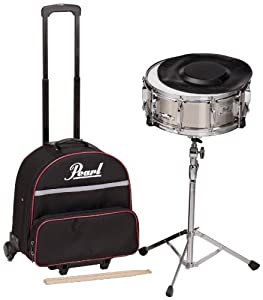 pearl sk900c educational snare kit with rolling case musical instruments. Black Bedroom Furniture Sets. Home Design Ideas