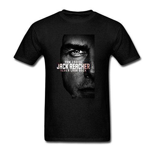 HLIANG Men's Jack Reacher Never Go Back New Movies T-shirt (Jack Reacher Prime Movie compare prices)
