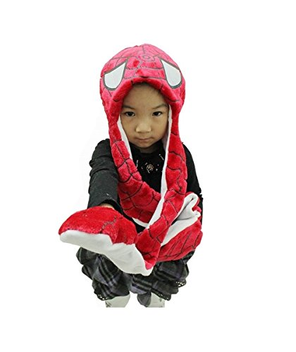 Spiderman KIDS Hat with long paws cartoon plush hat **Ships form USA**