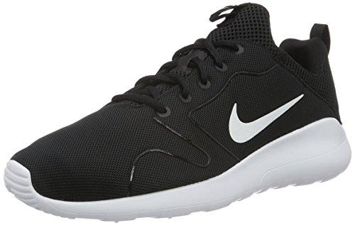 Nike Kaishi 2.0, Zapatillas de Deporte Para Hombre, Negro (Black/White), 44.5
