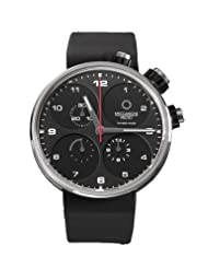 Meccaniche Veloci Men's W123N075372016 Automatic Titanium Black Dial Chronograph Watch