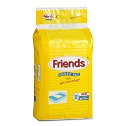 Nobel Hygiene Friends Underpads Regular Large Size (Pack of 10)