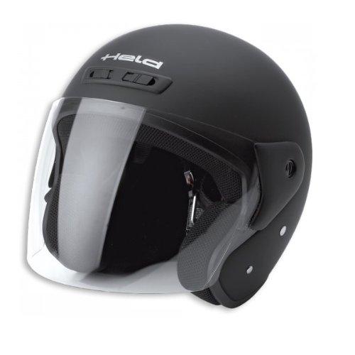 Motorcycle Held Demi-Jet Helmet Heros Matt Blk L UK