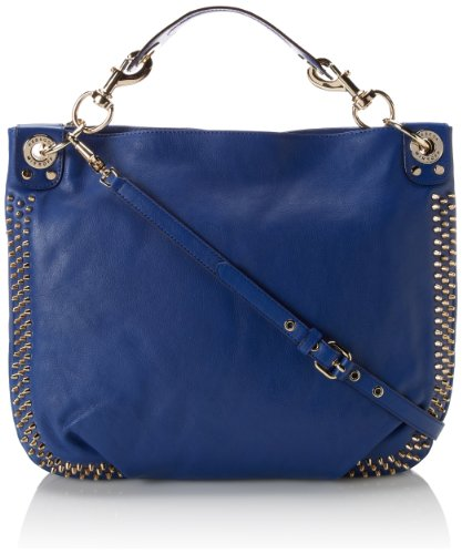 Rebecca Minkoff 瑞贝卡·明可弗 Mini Luscious Hobo with Studs 女款铆钉单肩手包