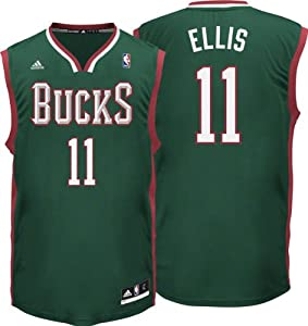 NBA Milwaukee Bucks Replica Jersey Monta Ellis #11 by adidas
