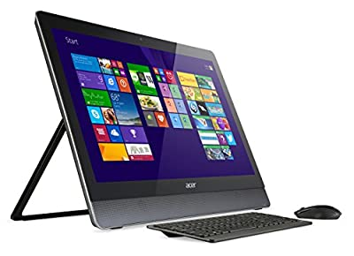 "Acer Aspire U5-620 PC Desktop All-in-One 23"" Full HD MultiTouch, Processore Intel Core i5-4200M, RAM 8 GB, HDD 1 TB, Scheda Grafica NVIDIA GTX850M da 2GB, Nero"
