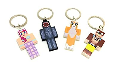Endertoys - 4 Keychain Bundle - Magic Animal Club - A Plastic Toy Set by Seus Corp Ltd.