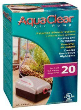 Hagen A844 Aqua Clear Air Pump Model 20