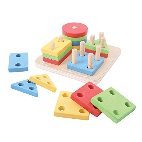 Bigjigs Baby First Four Shape Sorter