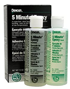 Devcon 5 Minute Epoxy - 15oz tube 5-minute epoxyliquid