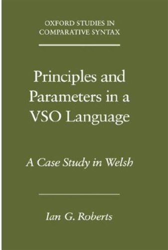 Principles and Parameters in a Vso Language: A Case Study in Welsh (Oxford Studies in Comparative Syntax)