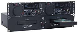 American Dj Supply Ucd200 Dual Cd Mp3 Player With Usb Inputs from American DJ Group of Companies