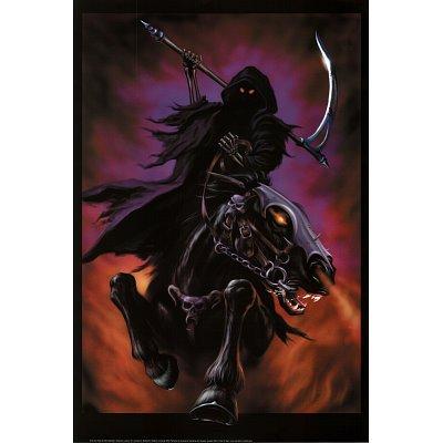 Grim Reaper Rider Soul Horseman'Art-Maxi Poster con stampa, 61 x 91 cm