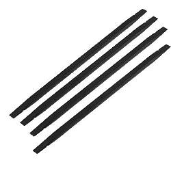 Mobile Phone Black Plastic Flat Tip Stick Soldering Repair Tool 4 Pcs
