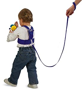 Sunshine Kids Sure Steps Safety Strap, Blue