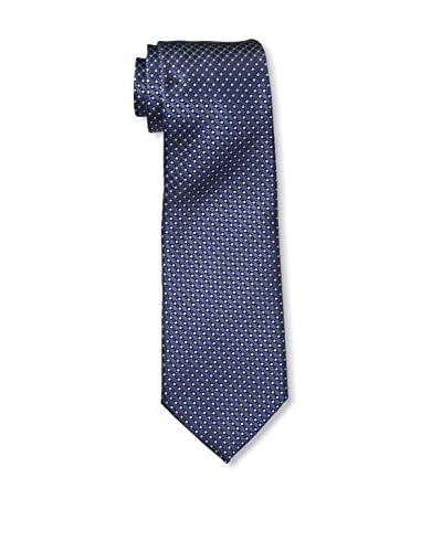 Ermenegildo Zegna Men's Pattern Tie, Blue