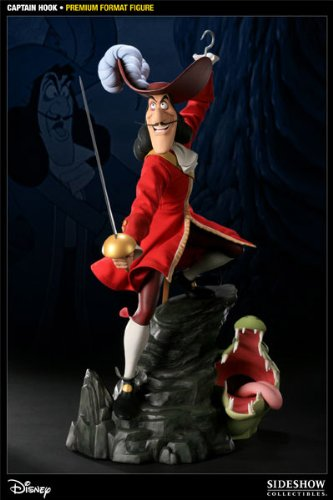 Buy Low Price Sideshow Captain Hook Premium Format Figure (B004KW4Q0Y)