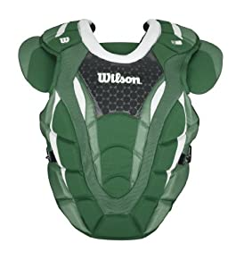 Wilson Promotion 18-Inch Baseball Chest Protector with Isoblox, Maroon, Adult by Wilson