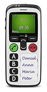 Doro Secure 580 Sim Free Mobile Phone with Isolated User Protection - White