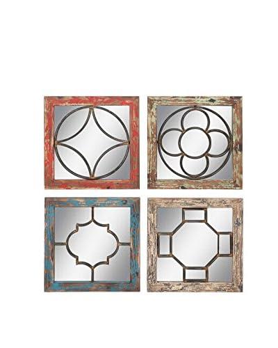 4-Piece Wall Mirror Set, Multi