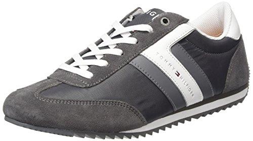 Tommy Hilfiger B2285RANSON 8C_1 Scarpe Low-Top, Uomo, Grigio (Steel Grey 039), 43