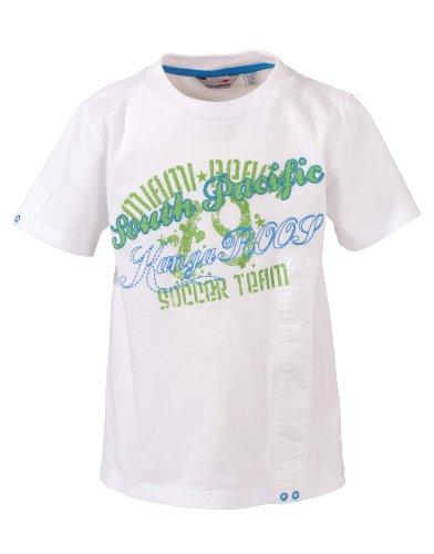 KangaROOS Kinder T-Shirt Santo, white, 104-110