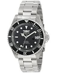 Invicta Collection Stainless Coin Edge Automatic