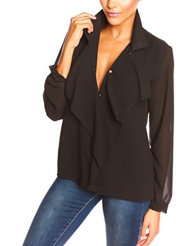 La Belle Francaise Blusa Brendy Negro S