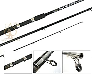 WSB 12ft Carbon Match Float & Coarse Fishing Rod Carbon Black Colour With Bag by Silver Bullet Trading