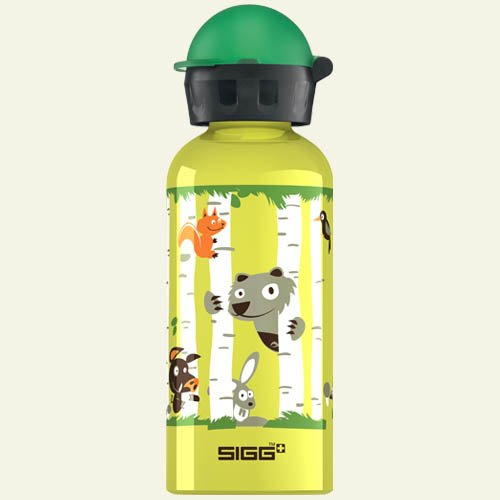 Sigg Wild Scouts Water Bottle (Yellow, 0.4-Litre) front-758478