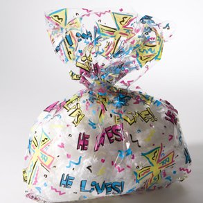 Buy He Lives Basket Wrap Bags