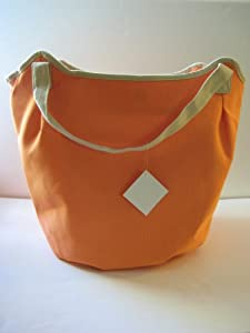 ... com : Nordstrom Canvas Tote Bag ~ Orange : Cosmetic Tote Bags : Beauty