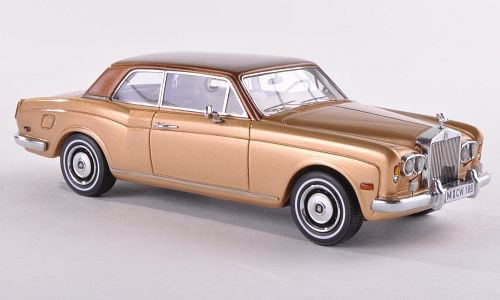 rolls-royce-corniche-fhc-gold-met-braun-lhd-limitierte-auflage-300-stuck-1971-modellauto-fertigmodel